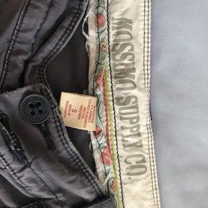 Boot cut/wide leg khaki pants